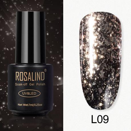 Rosalind Gel Polish Paillettes Meteore L09