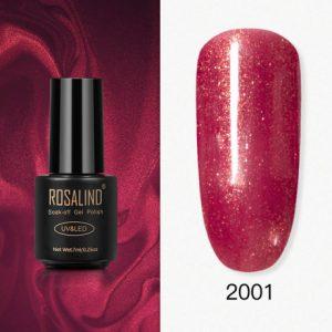 Rosalind Gel Polish Paillettes Rouges 2001