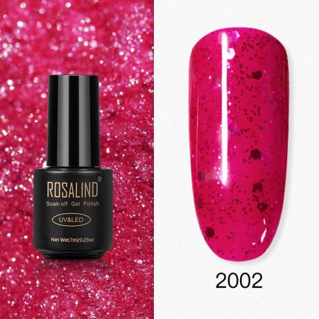 Rosalind Gel Polish Paillettes Rouges 2002