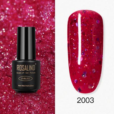 Rosalind Gel Polish Paillettes Rouges 2003