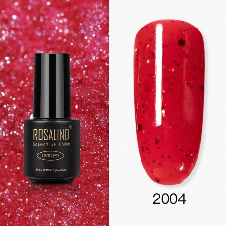 Rosalind Gel Polish Paillettes Rouges 2004