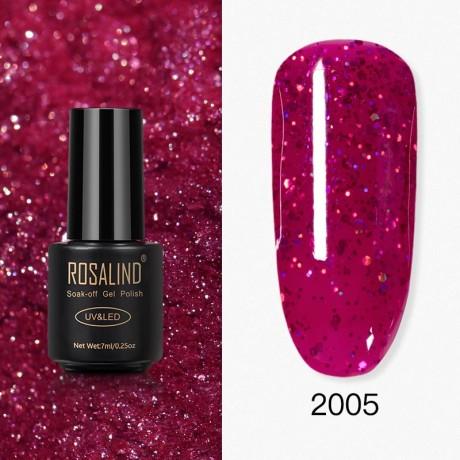 Rosalind Gel Polish Paillettes Rouges 2005