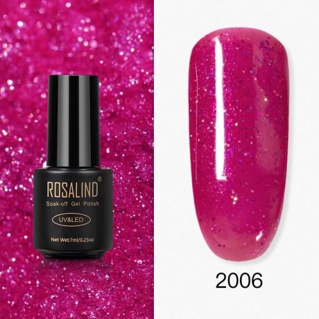 Rosalind Gel Polish Paillettes Rouges 2006