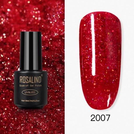 Rosalind Gel Polish Paillettes Rouges 2007