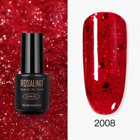 Rosalind Gel Polish Paillettes Rouges 2008