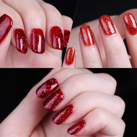 Rosalind Gel Polish Paillettes Rouges
