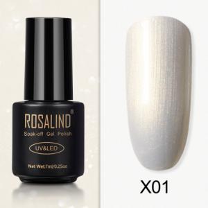 Rosalind Gel Polish Paillette Perle X01