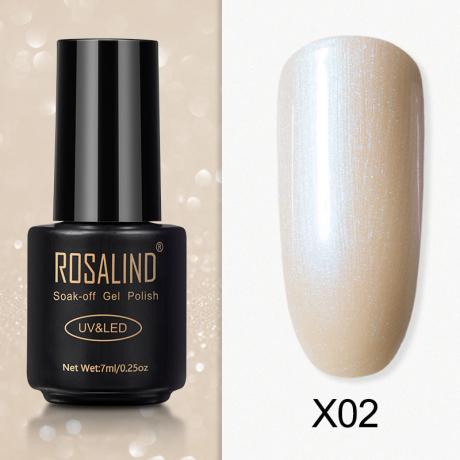 Rosalind Gel Polish Paillette Perle X02