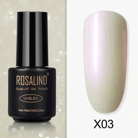 Rosalind Gel Polish Paillette Perle X03