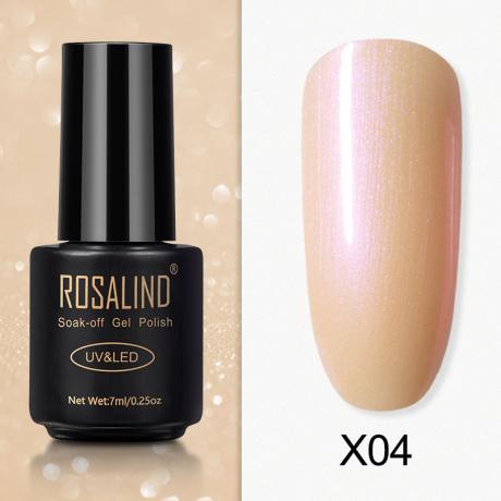 Rosalind Gel Polish Paillette Perle X04