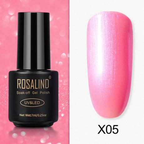Rosalind Gel Polish Paillette Perle X05