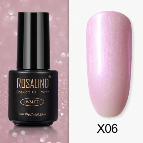Rosalind Gel Polish Paillette Perle X06