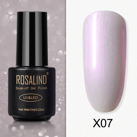 Rosalind Gel Polish Paillette Perle X07