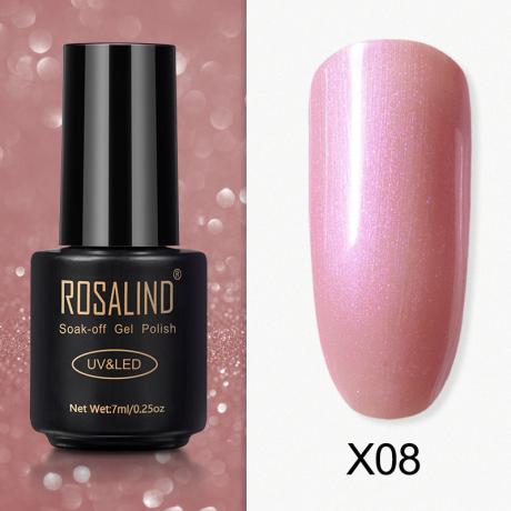 Rosalind Gel Polish Paillette Perle X08
