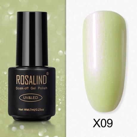 Rosalind Gel Polish Paillette Perle X09