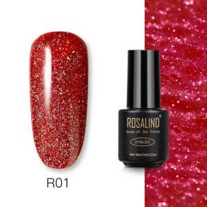 Rosalind Gel Polish Paillettes Néon R01