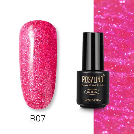 Rosalind Gel Polish Paillettes Néon R07
