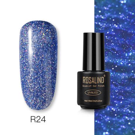 Rosalind Gel Polish Paillettes Néon R24