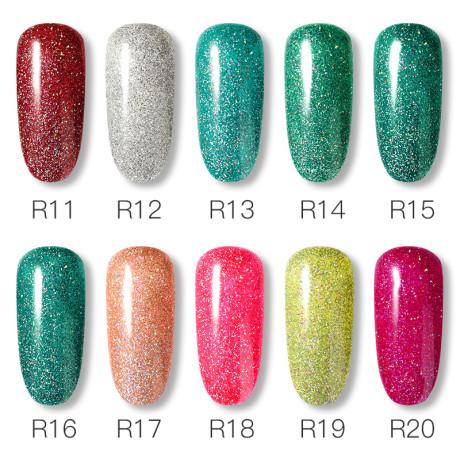 Rosalind Gel Polish Paillettes Neon Liste 2