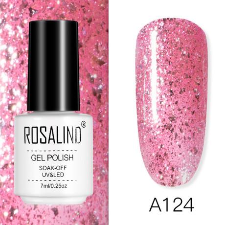 Rosalind Gel Polish Rose Gold A124