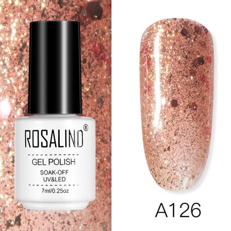 Rosalind Gel Polish Rose Gold A126