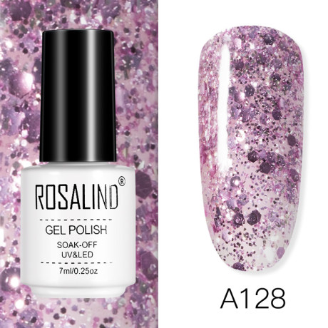 Rosalind Gel Polish Rose Gold A128