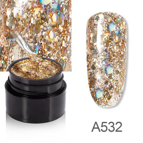Rosalind Gel Polish Shiny Diamante A532