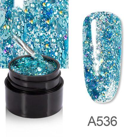 Rosalind Gel Polish Shiny Diamante A536
