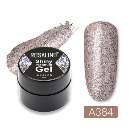 Rosalind Gel Polish Shiny Platine A384