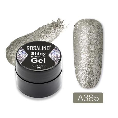 Rosalind Gel Polish Shiny Platine A385