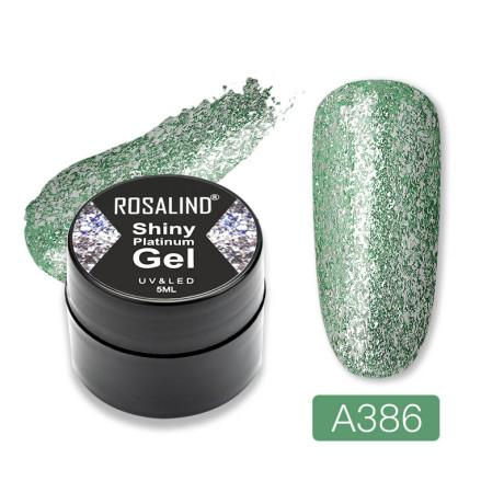 Rosalind Gel Polish Shiny Platine A386
