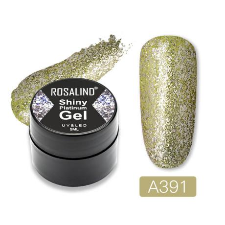 Rosalind Gel Polish Shiny Platine A391