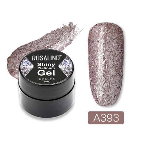 Rosalind Gel Polish Shiny Platine A393