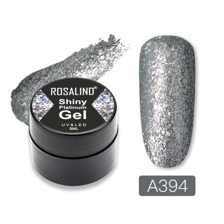 Rosalind Gel Polish Shiny Platine A394