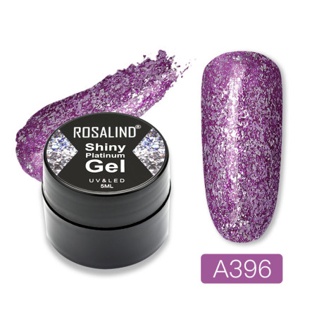 Rosalind Gel Polish Shiny Platine A396