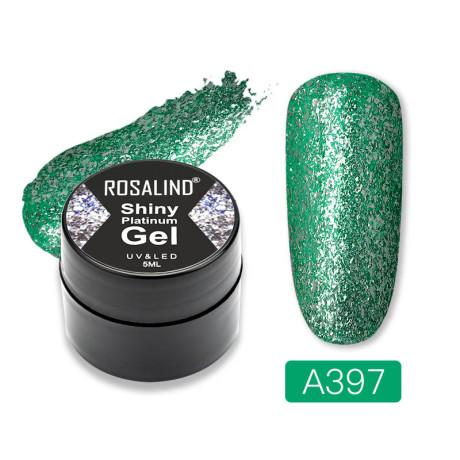 Rosalind Gel Polish Shiny Platine A397