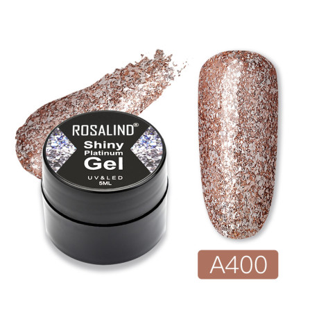 Rosalind Gel Polish Shiny Platine A400