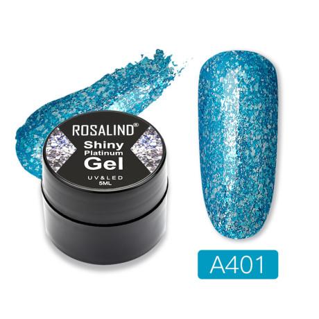 Rosalind Gel Polish Shiny Platine A401