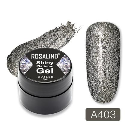 Rosalind Gel Polish Shiny Platine A403