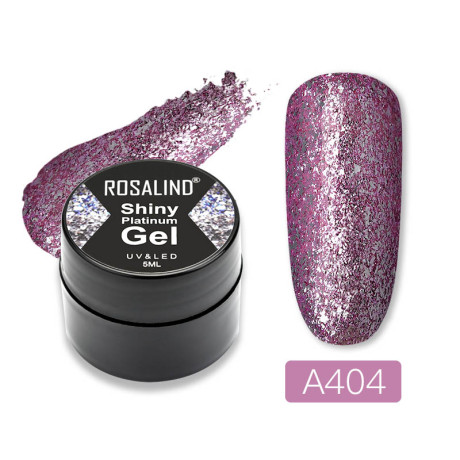 Rosalind Gel Polish Shiny Platine A404