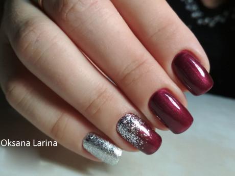 Rosalind Gel Polish Shiny Platine Exemple