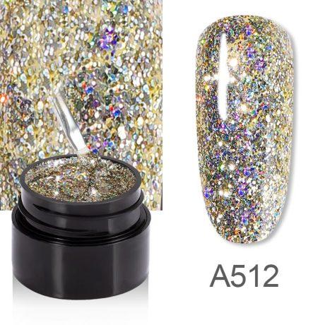 Rosalind Gel Polish Shiny Rainbow A512