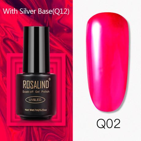 Rosalind Gel Polish Titane Q02