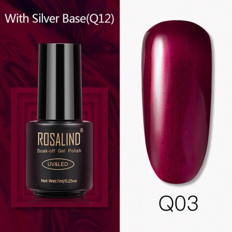 Rosalind Gel Polish Titane Q03