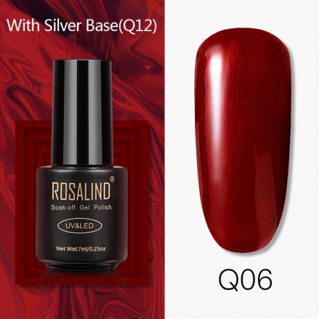 Rosalind Gel Polish Titane Q06