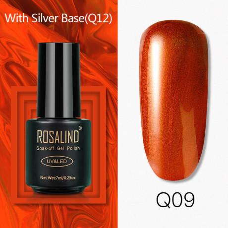 Rosalind Gel Polish Titane Q09