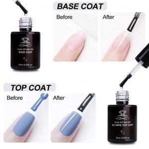 Set Top Coat Base Coat Makartt