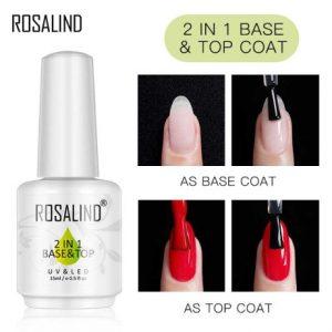 Top Base Coat 2 en 1 Rosalind