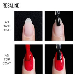 Top Base Coat 2 en 1 Rosalind Exemple