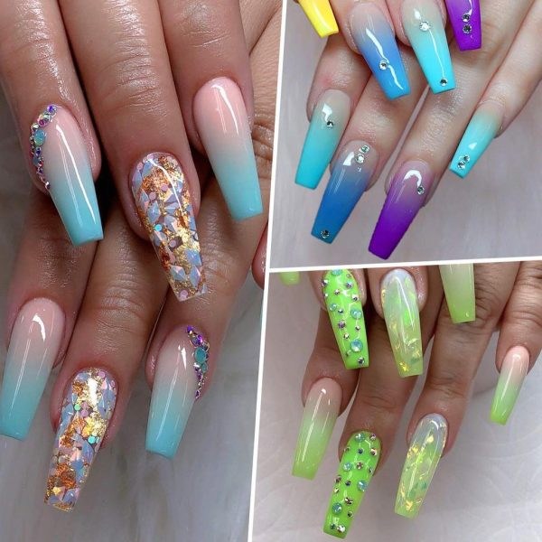 Colles Strass Faux Ongles Makartt Exemple 2